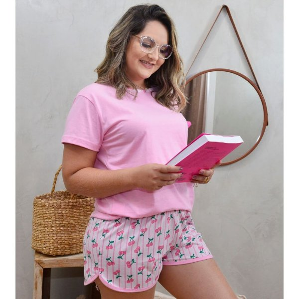 Pijama Joyce Cereja H13