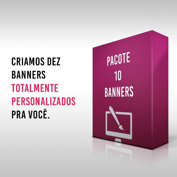 Pacote 10 Banners