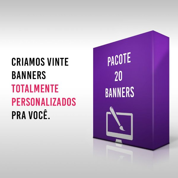 Pacote 20 Banners