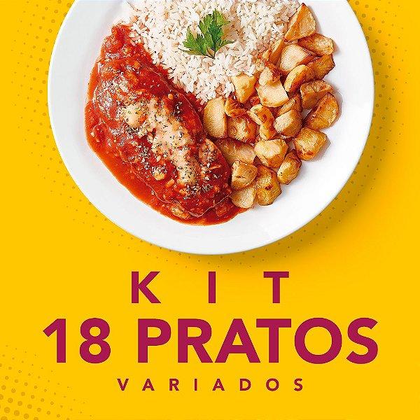 Kit 18 Pratos