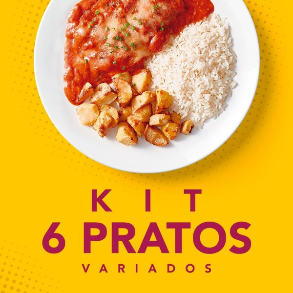 KIT 6 Pratos