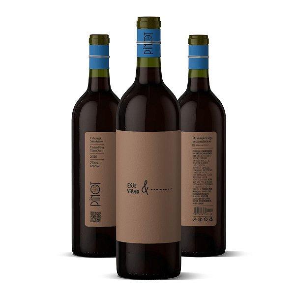 KIT com 3 Esse Vinho &...