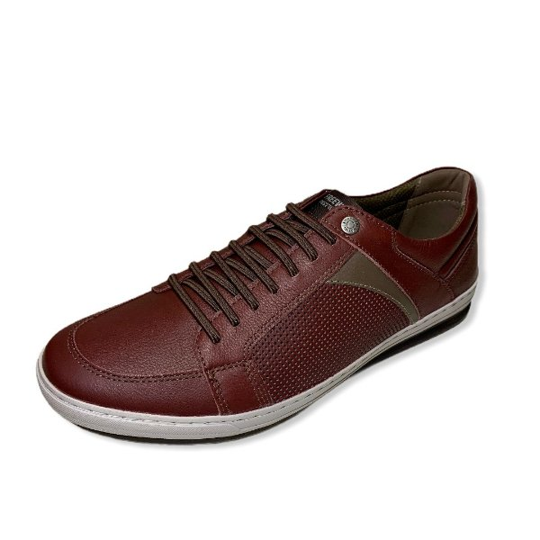 Tênis Casual Masculino Freeway 03151 COR ANGEL BORGONHA