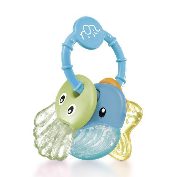 Mordedor resfriável com água Sea Friends azul - MULTIKIDS BABY