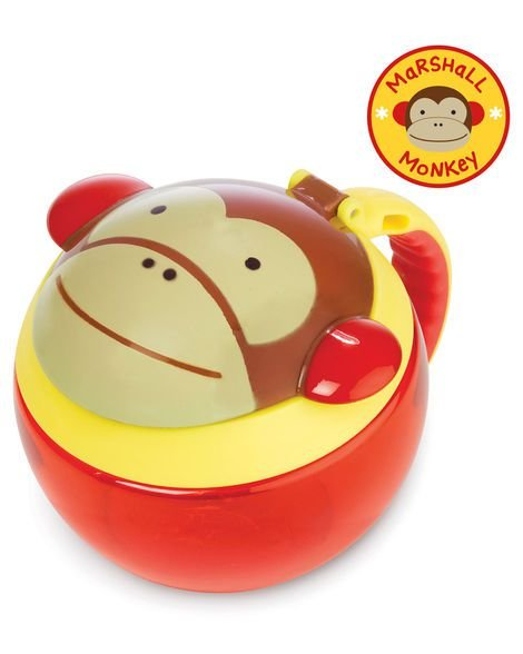 Potinho de Lanche ZOO Macaco - SKIP HOP
