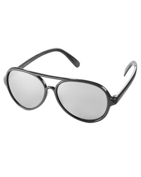 Óculos de sol Aviador cinza 0-24 meses com proteção 100% UVA/UVB - CARTERS