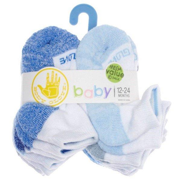 Kit meias 10 pares no tamanho 12 a 24 meses - Baby