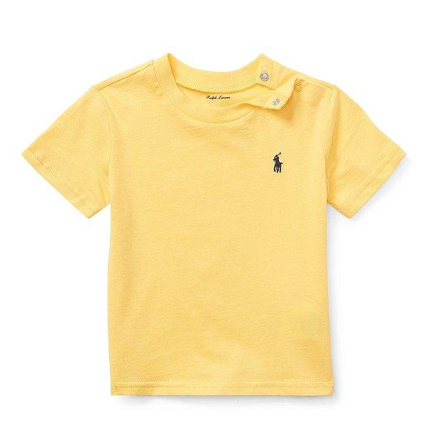 Camiseta básica amarela - RALPH LAUREN