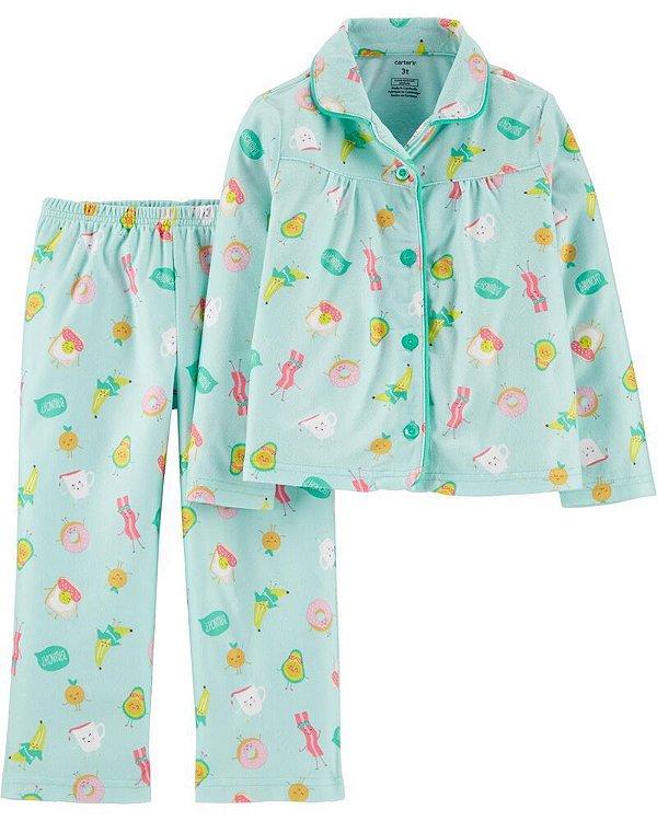 Conjunto 2 peças - pijama docinhos - Carter's