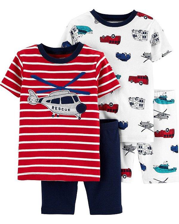Kit pijama 4 peças - Carter's