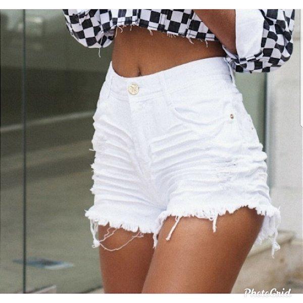 Short Jeans Degrant Hot Pants