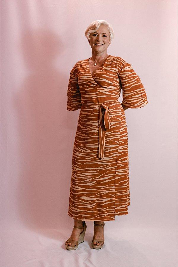 Vestido Terracota