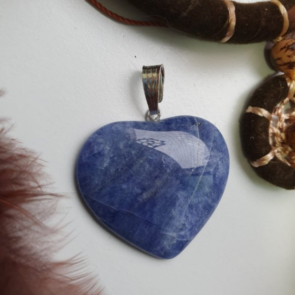 Pingente Sodalita Coração