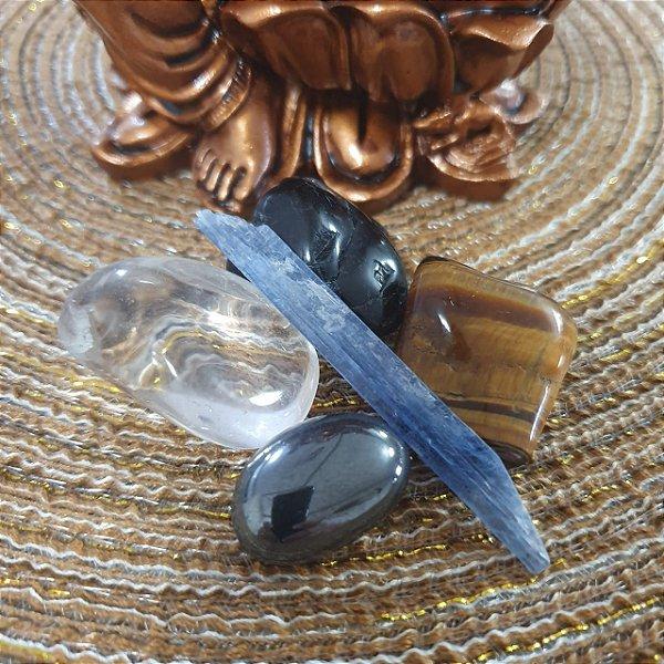 Kit Pedras Naturais - Proteção