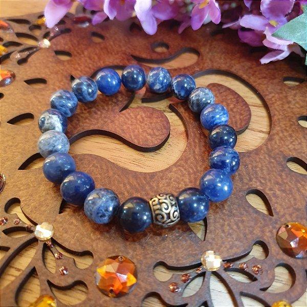 Pulseira Lápis Lazuli 10mm