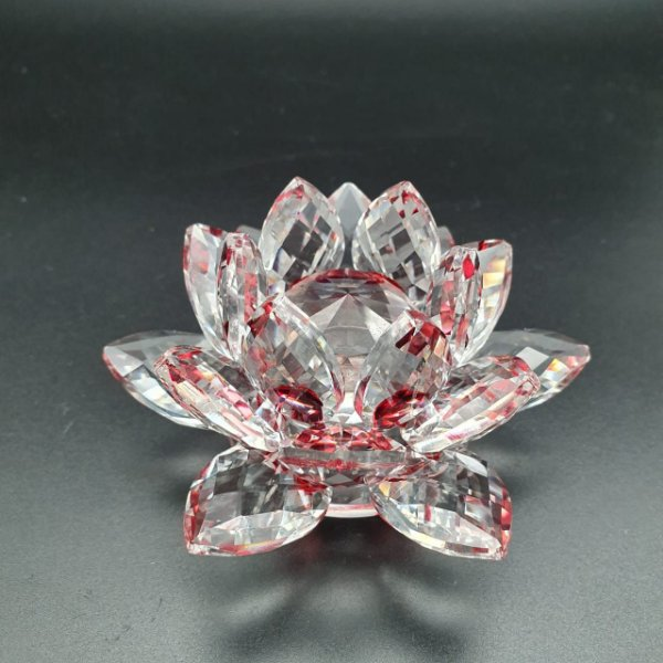 Flor de Lotus em Cristal 240 Gr