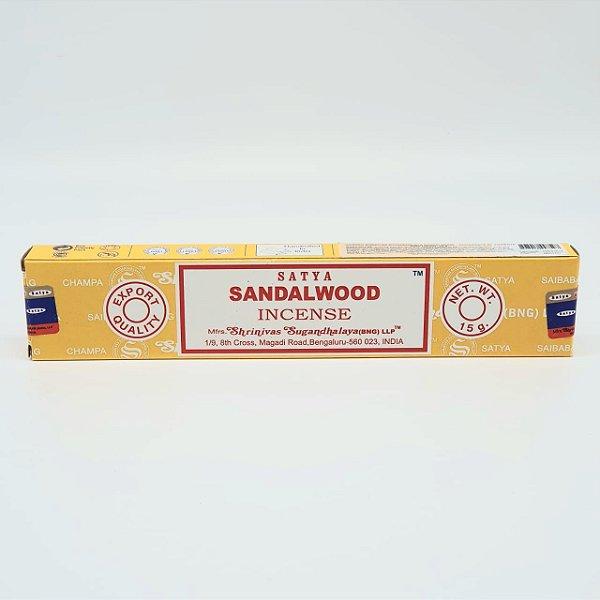 Incensos Nag Champa - Satya Sai Baba Agarbatti (SandalWood)