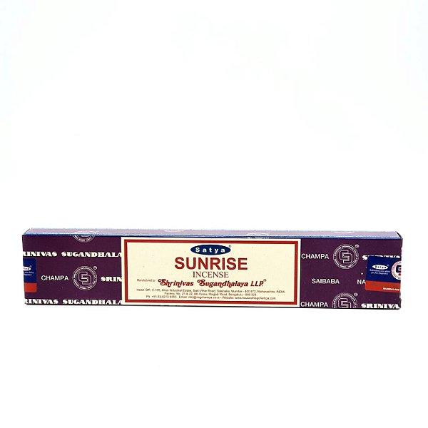 Incensos Nag Champa - Satya Sai Baba Agarbatti (Sunrise)