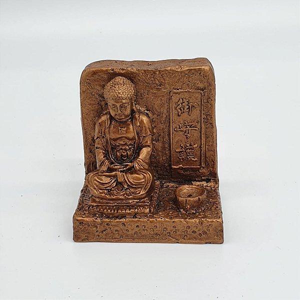 Incensário Buda Zen da Proteção 7cm