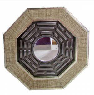 Quadro Baguá Céu Posterior com Espelho 13 cm
