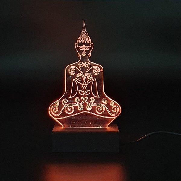 Luminária Buda 18 cm