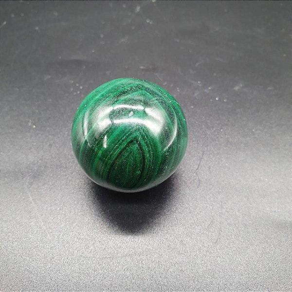 Esfera de Malaquita - 92g | 3,5 x 3,5cm