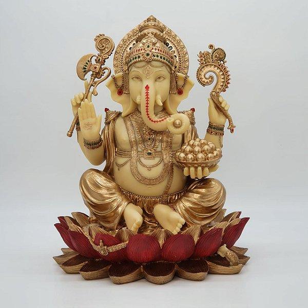 Ganesha em Resina -  30cm de Altura | produto importado, acabamento de excelente qualidade