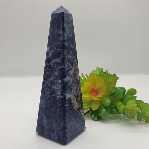 Obelisco de Sodalita | A12cm x L3,5cm | P200G