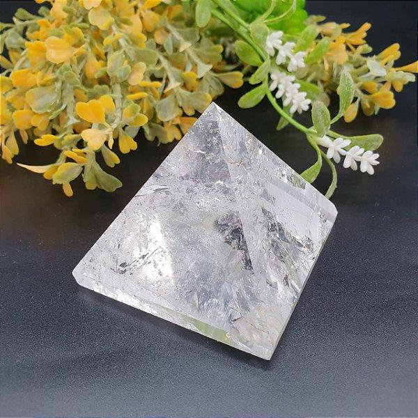 Pirâmide de Cristal | A6cm x L6cm x P6cm | P 196g