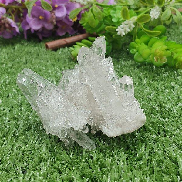 Drusa de Cristal - Qualidade Super Extra Especial | A6cm x L6cm x P6cm | P 117g