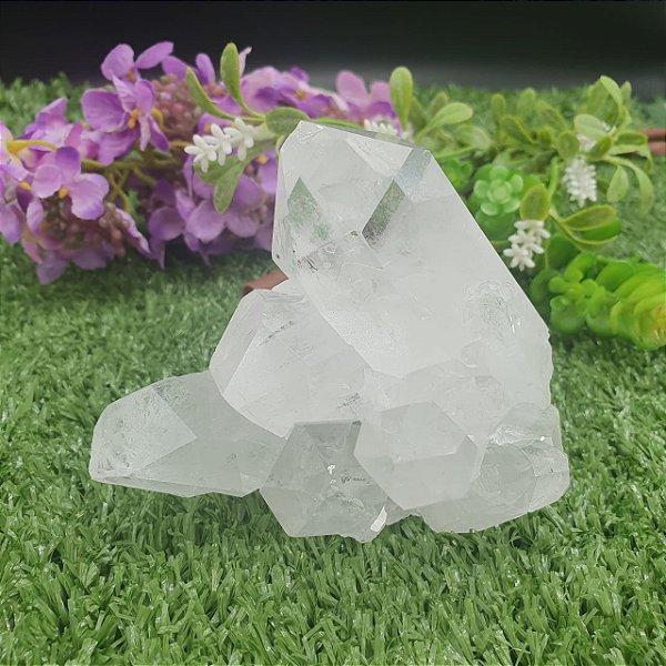 Drusa de Cristal - Qualidade Extra Especial | A9cm x L9cm x P9cm | P 453g