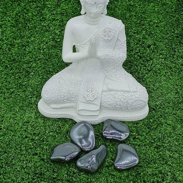 Pedra Hematita Rolada (unidade)   5cm x 1cm aprox.