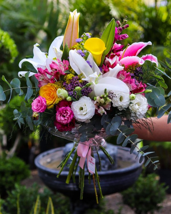 Arranjo Flowers Luxo Misto