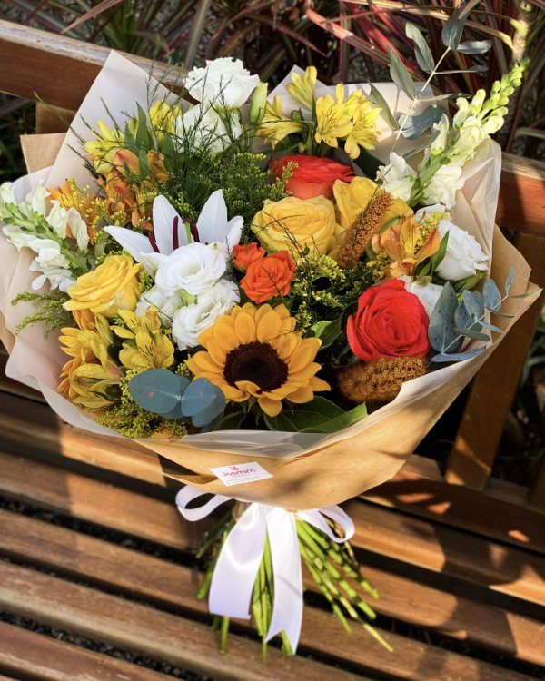 Arranjo Flowers Sunset GG