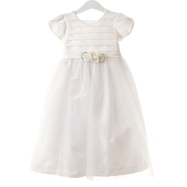 Vestido Branco manga curta.