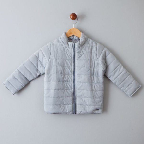 Jaqueta corta vento cinza