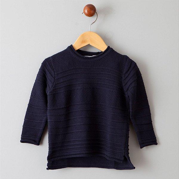 Suéter Tricot marinho