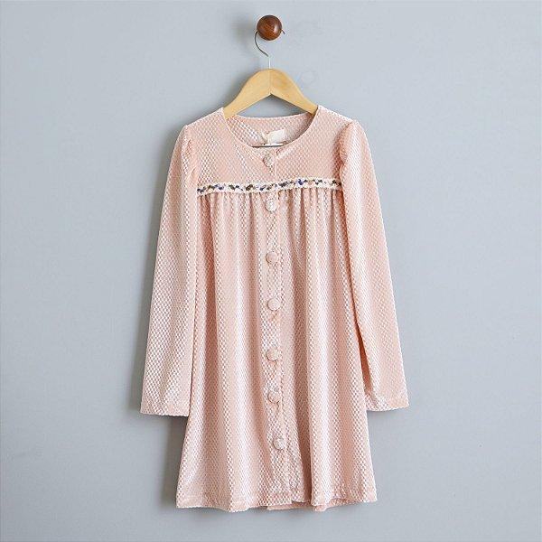 Vestido Poli rosa