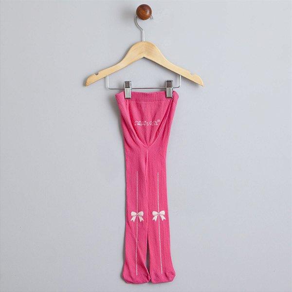 Meia calça pink