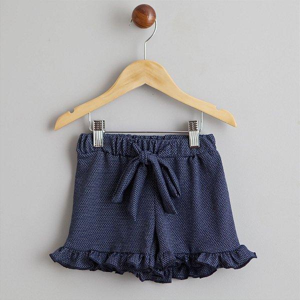 Shorts Aruma marinho