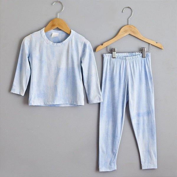 Conjunto Tie dye azul