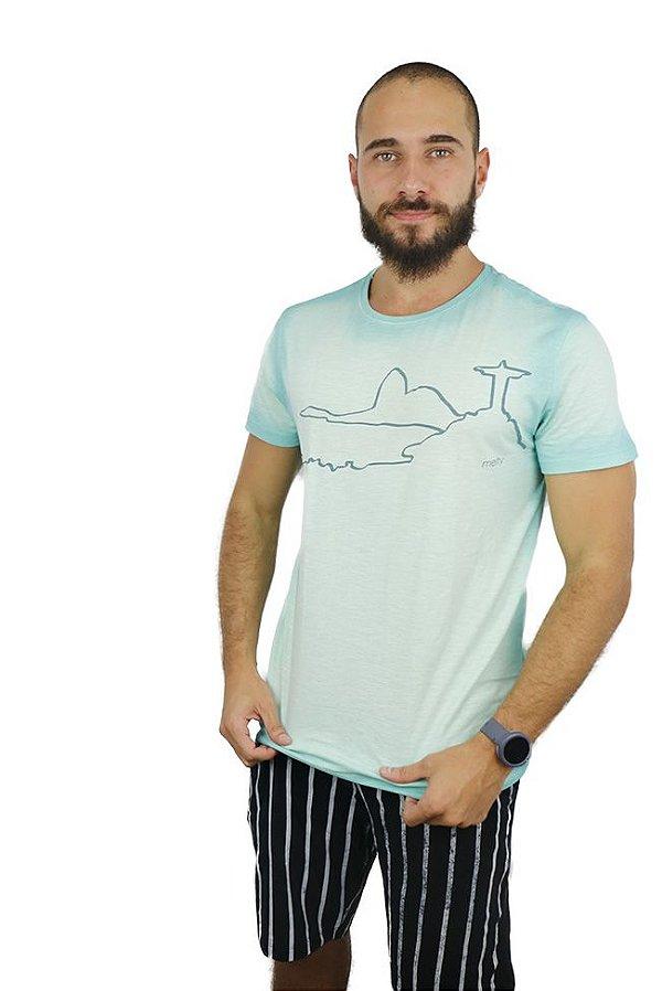 T-Shirt Corcovado Verde