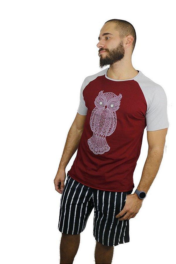 T-Shirt Owl Wine
