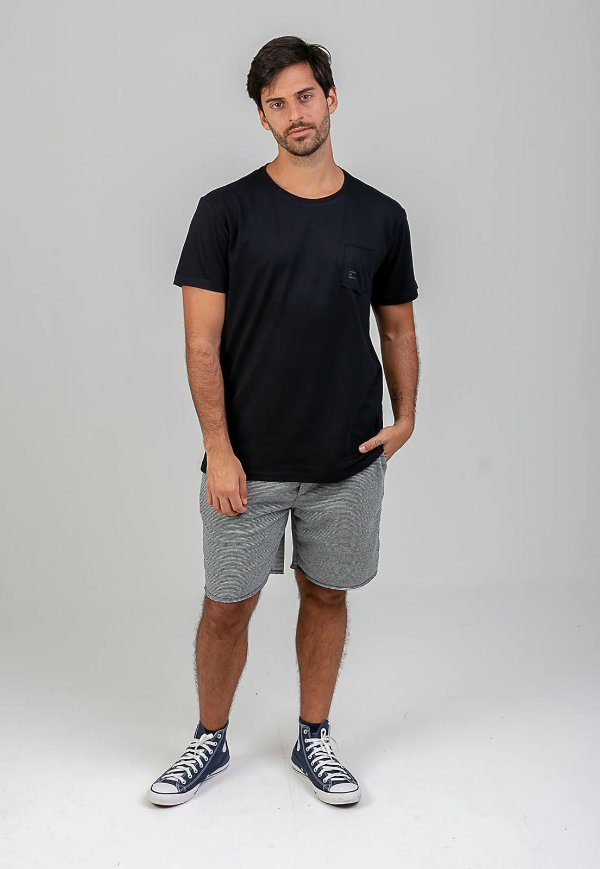 T-Shirt Embrace the Lightness Preto