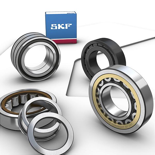 NU 208 ECKP/C3 - Rolamentos de Rolos Cilíndricos - SKF