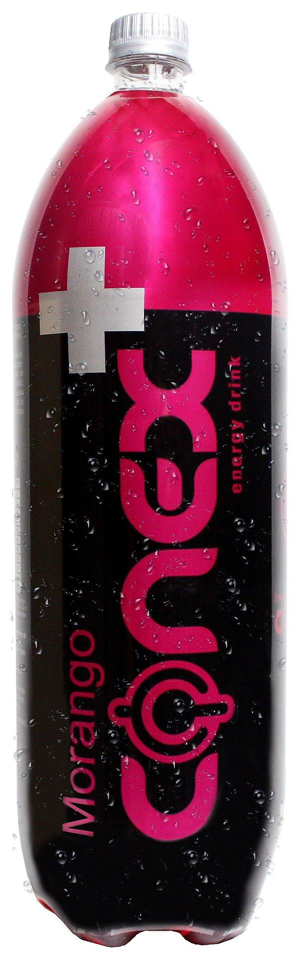 Energético CONEX sabor MORANGO 2 Litros Pacote com 6 UND.