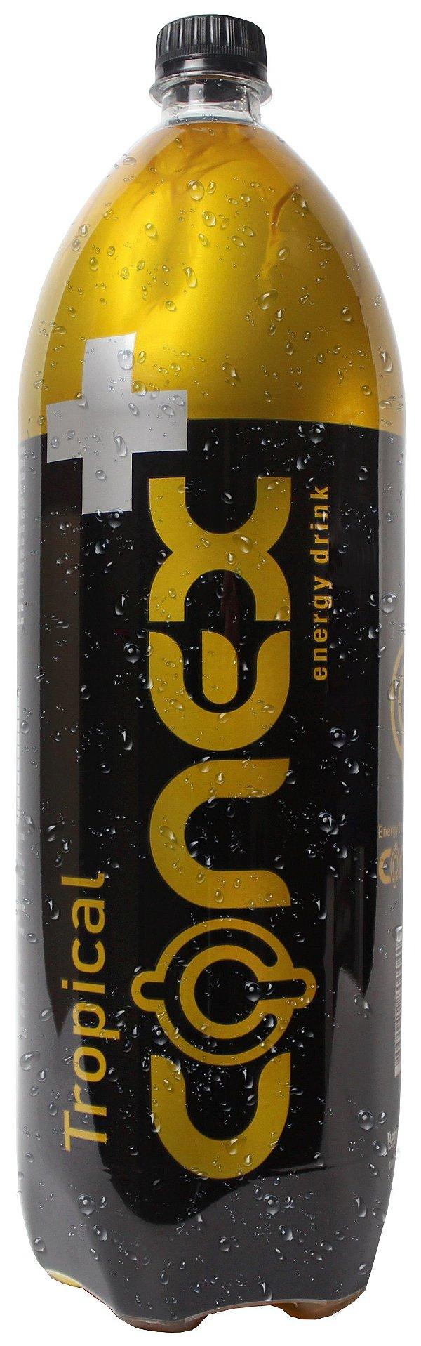 Energético CONEX sabor TROPICAL 2 Litros Pacote com 6 UND.
