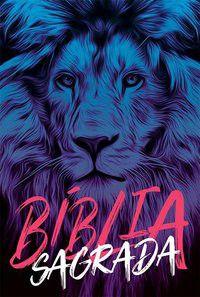 Bíblia NAA Leão azul Nova Almeida Atualizada
