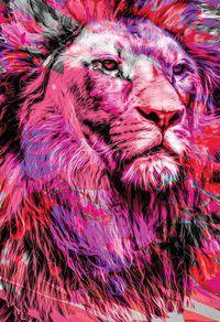 Bíblia NTLH YouVersion The Lion Rosa Nova Tradução na Linguagem de Hoje