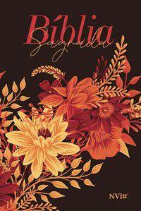 Bíblia NVI Letra Gigante - Buquê Preta Nova Versão Internacional